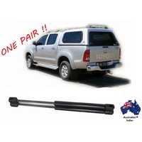 2 x NEW Gas Struts suit ARB Canopy SIDE window 325mm long 90N 2597RI inc Hilux