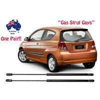 Gas Struts suit Holden Barina TK Model Hatch boot 2006 to 2011 New PAIR