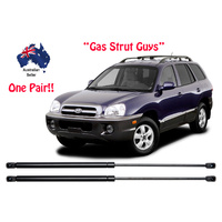 2 x New Bonnet Gas Struts suit Hyundai Santa Fe 2000 to 2006 1st Gen SM model