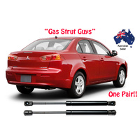 Gas Struts suit Mitsubishi Lancer Sedan BOOT 2007 on New Pair ES VR VRX