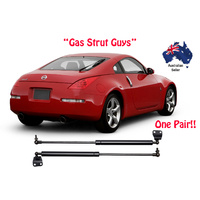 2 x New Gas Struts suit Nissan 350Z Rear Hatch Z33 model 2003 to 2008