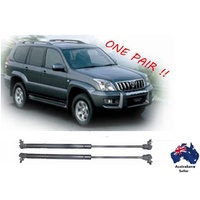 Gas struts suit Toyota Land Cruiser Prado 120 Series Bonnet 2002 - 2009 New PAIR