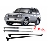 Gas Struts Combo Toyota Landcruiser 100 Series Tailgate and Bonnet BOTH Pairs