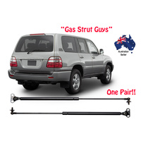 2 x NEW Gas Struts suit Toyota Landcruiser 100 Series Rear window 1997 to 2007
