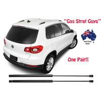 Gas Struts suit VW Volkswagen Tiguan TAILGATE Boot Hatch 2007 to 2016 New PAIR
